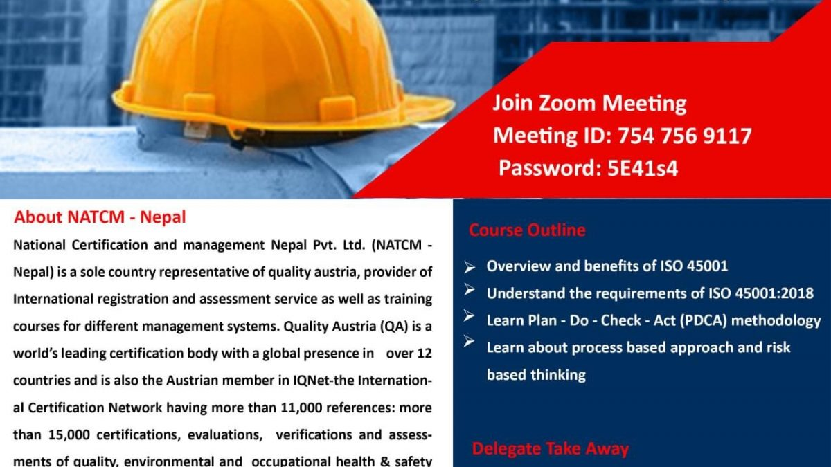 ISO In Nepal