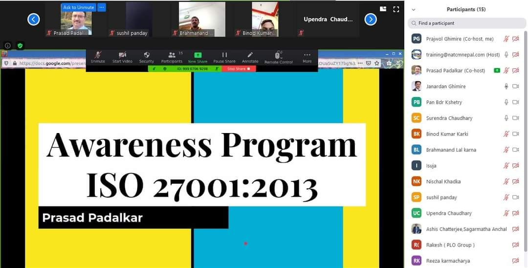 ISMS 27001:2013 ISMS 27001:2013 In Nepal ISMS 27001 ISO 27001 in Nepal ISO 27001:2013 in Nepal