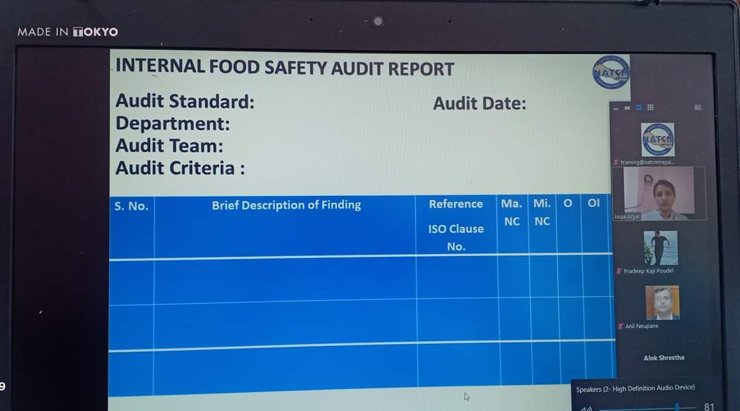 ISO 22000:2018 in nepal, Food safety Management training in nepal, food safety managaement system certificate in nepal, fsms in nepal , fsms training in nepal, ISMS in nepal, ISMS training in Nepal, ISO 27001:2013 in nepal, Information Management system in nepal, ISO 27001:2013 certificate in nepal, Information Management System training in nepal